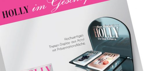 3D Bücherdisplay Holly (Goldmann)