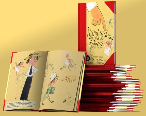 3D Visualisierung Mark Twain Buch (Aufbau Verlag)