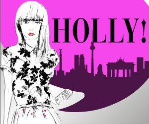 Medium Rectangle Banner 'Holly' von anna Friedrich (Goldmann)