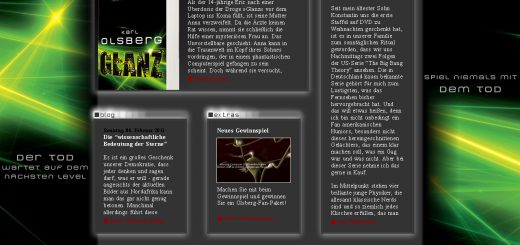 Karl Olsberg Autoren Website Aufbau Verlag